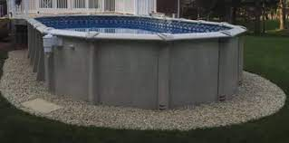 If you have more than a few inches drop, it is a good idea to level off the top side a bit first. How To Level Ground For A Pool Without Digging 3 Easy Solutions Mad Backyard