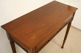mahogany hall table. Narrow Mahogany Hall Table / Side Antique Tables I