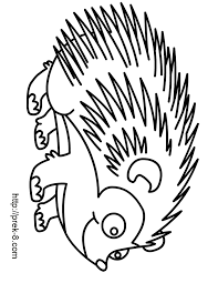 Hedgehog Coloring Pages 7 11496