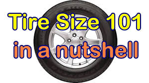 Tire Chart Meaning What The Car Tire Size Numbers Mean