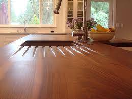 wood drainboard
