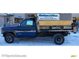 2000 Chevrolet Silverado 3500 Regular Cab 4x4 Chassis Dump Truck ...