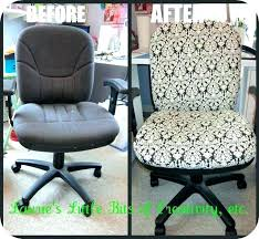 office chair slipcover diy desk cover heated