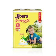 <b>Подгузники</b>-<b>трусики Libero Dry</b> Pants Maxi (7-11 кг) 54 шт. для ...