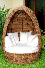 occasional mali egg chair indoor white wicker rocking chair