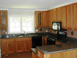 cherry kitchen cabinets with quartz countertops home