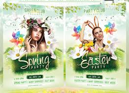 17 Great Spring Break Party Flyer Templates – Design Freebies