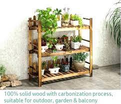 garden shelf outdoor shelf garden shelf solid wood flower rack wooden shelf garden 3 tier shelve garden shelf