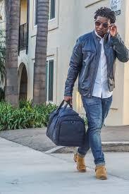 dapper advisor wilsons leather navy blue leather moto jacket white oxford shirt wilsons