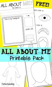 All About Me Worksheets Pdf All About Me Colouring Sheets All About Me Free Printable