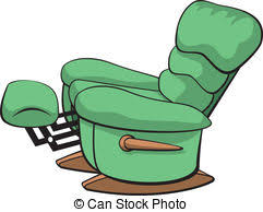 recliner chairs clip art. Contemporary Art Recliner  Vector Illustration Of An Open Recliner Chair For Chairs Clip Art