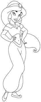 Small Picture Disney Princess Jasmine Coloring Pages To Print Coloring Pages Ideas