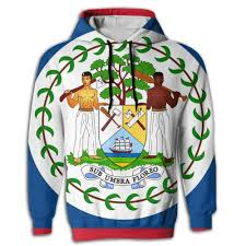 Amazon Com Moald7 Flag Of Belize Mens Printed Sweaters With