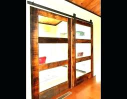 sliding door panels barn double 3 glass panel specification captivating