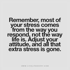 Remember Most Of Your Stress Comes From Live Life Happy Gorgeous Stress Quotes