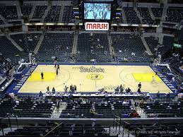 Conseco Fieldhouse Seating Chart View Bankers Life Fieldhouse Section 104 Indiana Pacers