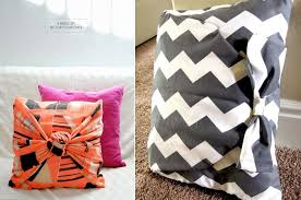 5 minute diy no sew pillow cover