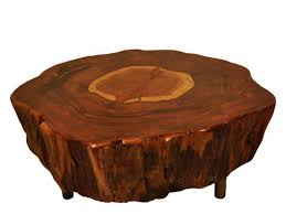 Tree Stump Coffee Table New Coffee Table Classic Style Solid Rustic Tree  Stump Coffee Table Tree Trunk Coffee Tables Tree