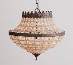 dalila beaded crystal chandelier