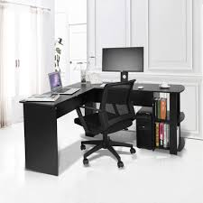 office computer table. Fancy Book Shelves Home Study Laptable Office Computer Desk L Shape Lap Desks Table