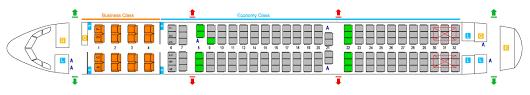 Class 1 A Seating Chart Flight Facilities Flight Information Srilankan Airlines