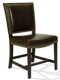 leather side chair design leather options available find this pin and more on unique dining chairs