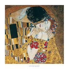 Gustav Klimt - Il bacio Kunstdruck 70x70cm