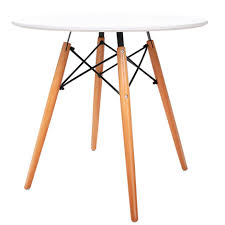 Round table legs Etsy Artiss Round Wooden Dining Table White Graysonline Stainless Steel Coffee Table Legs Graysonline