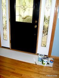 painting oak trim and doors