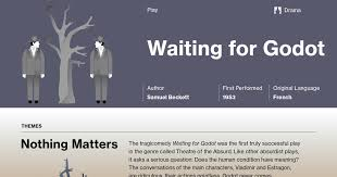 waiting for godot character analysis course hero