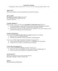 Psychology Internship Resume Examples Essay Example Intern Making A