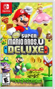 New <b>Super Mario</b> Bros U Deluxe | Nintendo Switch | GameStop