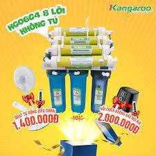 Máy lọc nước RO Kangaroo 8 lõi lọc KG06G4 (Không tủ)