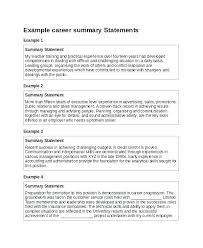Example Of Resume For Practical Training Executive Summary Example ...