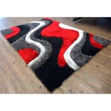 wayfair red rugs brilliant rug factory plus hand tufted area rug pertaining to black and red
