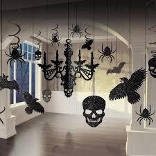 horror theme gothic chandelier glitter amscan decoration set kit party