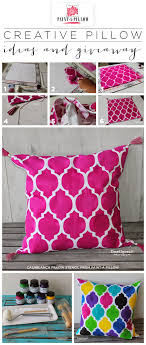 paint a pillow shares how to create custom diy stenciled pillow using the casablanca