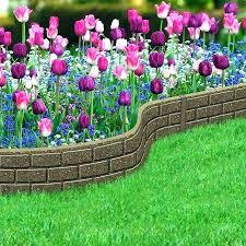 plastic garden edging bricks quality roll bunnings
