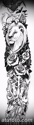 тату рукав для девушек эскизы 08032019 010 Tattoo Sketches