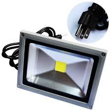 plug in outdoor led flood light designs
