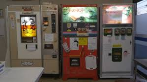 Capsule Vending Machine For Sale Fascinating Welcome To The Japanese Vending Machine Restaurant With No Staff