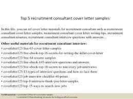 Sample Cover Letter For Recruitment Agency Cover Letter To Recruitment Agency Cover Letters For