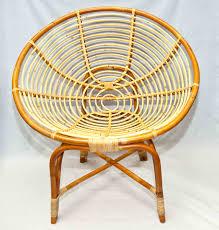 bamboo rattan chairs. C4) Rattan Shell Chair Bamboo Chairs