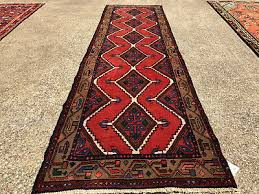 2x9 persian runner rug hand knotted antique wool oriental red serapi 2x8 3x8 3x9