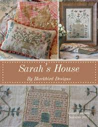 Blackbird Designs Cross Stitch Charts Sarahs House Loose Feathers Cross Stitch Chart