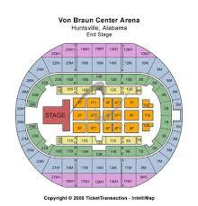 Von Braun Center Arena Seating Chart Von Braun Center Arena Tickets In Huntsville Alabama