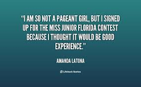 Beauty Contest Quotes Best of Quotes About Beauty Pageant 24 Quotes