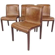 knoll dining chairs set of mid century dining chairs by bill stephens for
