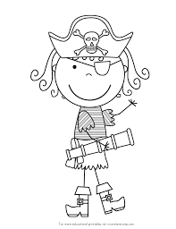 Piet pirate chef dancing happily coloring pages to color, print and download for free along with bunch of favorite piet pirate coloring page for kids. Pirate Color Pages For Kids Meisjes Piraten Piraten Piraten Feestje