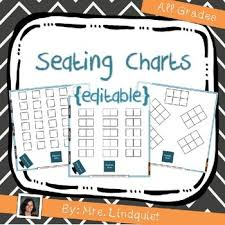 Seating Chart Worksheets Teaching Resources Teachers Pay